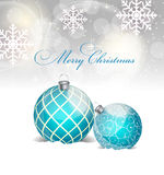 Abstract beauty Christmas and New Year background. Vector Illustration EPS10 Stock Photography