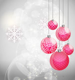 Abstract beauty Christmas and New Year background. Vector Illustration EPS10 Stock Images