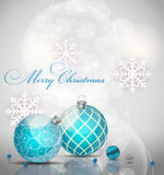 Abstract beauty Christmas and New Year background. Vector Illustration EPS10 Stock Photo