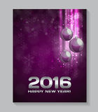 Abstract beauty Christmas and New Year background. Stock Photography