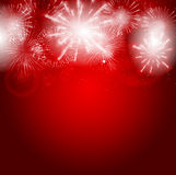 Abstract beauty Christmas and New Year background Royalty Free Stock Photography