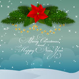 Abstract Beauty Christmas and New Year Background. Vector Illustration. EPS10 stock illustration