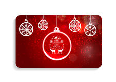 Abstract Beauty Christmas and New Year Card Vector. Illustration. EPS10 stock illustration