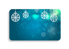 Abstract Beauty Christmas and New Year Card Vector Royalty Free Stock Photography