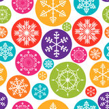 Abstract Beauty Christmas and New Year Seamless Stock Photo