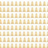 Abstract Beauty Christmas Tree and Seamless Pattern. New Year  B Royalty Free Stock Image