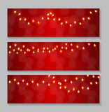 Abstract Beauty Glowing Light Background. Vector Royalty Free Stock Photography