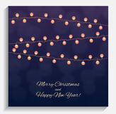 Abstract Beauty Merry Christmas and New Year Background with Mul Stock Photography
