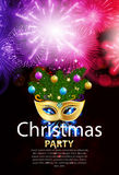 Abstract Beauty Merry Christmas and New Year Party Background  Stock Photo