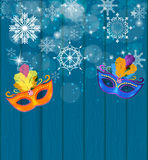 Abstract Beauty Merry Christmas and New Year Party Background wi Royalty Free Stock Image