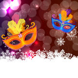 Abstract Beauty Merry Christmas and New Year Party Background wi Stock Photo