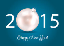Abstract Beauty 2015 New Year Background. Vector. Illustration. EPS10 stock illustration