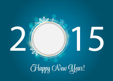 Abstract Beauty 2015 New Year Background. Vector. Illustration. EPS10 Stock Photo