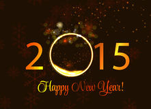 Abstract Beauty 2015 New Year Background. Vector. Illustration. EPS10 Stock Images