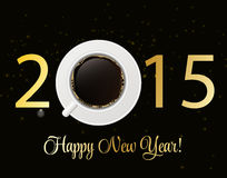 Abstract Beauty 2015 New Year Background. Vector. Illustration. EPS10 Royalty Free Stock Image