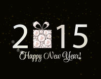 Abstract Beauty 2015 New Year Background. Vector Stock Photography