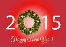 Abstract Beauty 2015 New Year Background. Vector. Illustration. EPS10 Stock Photos