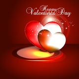 Beautyful heart background. Stock Image