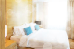 Abstract bedroom Stock Images
