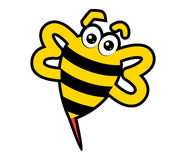 Abstract Bee Character Stock Images