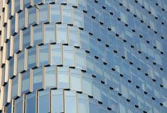 Abstract Beeld een glas de bouwbuitenkant Royalty-vrije Stock Afbeelding