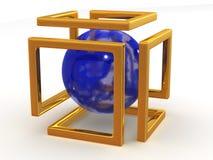 Abstract beeld. Oneindigheid Royalty-vrije Stock Foto