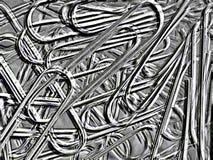 Abstract beeld, paperclip Royalty-vrije Stock Fotografie
