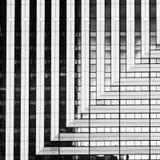 Abstract beeld van architectuur aan gebruik als achtergrond Royalty-vrije Stock Fotografie