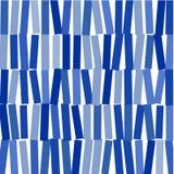 Abstract beeld van blauwe rechthoeken op whit achtergrond stock afbeelding