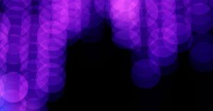 Abstract beeld van bokehlichten in de stad Stock Foto's