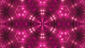 Abstract beeld van clublichten het 3d teruggeven stock illustratie