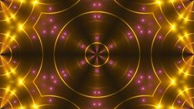 Abstract beeld van clublichten het 3d teruggeven Stock Afbeelding