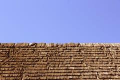 Abstract beeld van dakspaandak stock foto's