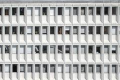 Abstract beeld van de bureaubouw Stock Fotografie