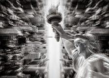 Abstract beeld van de Stad van New York Royalty-vrije Stock Afbeelding