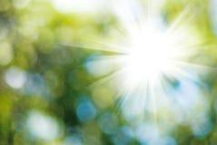 Abstract beeld van de zon Stock Fotografie