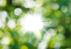 Abstract beeld van de zon Stock Foto