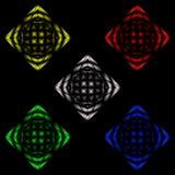 Abstract beeld van discobal vector illustratie