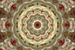Abstract beeld van een cirkel Royalty-vrije Stock Fotografie