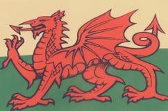 Abstract beeld van een fragment van een vlag van het Europese land Stock Foto's
