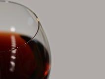Abstract beeld van een glas wijn Royalty-vrije Stock Afbeeldingen