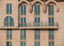Abstract beeld van een modern gebouw Royalty-vrije Stock Foto