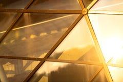 Abstract beeld van een modern gebouw Stock Foto