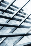 Abstract beeld van een modern gebouw Stock Afbeelding