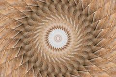 Abstract beeld van een trechter in het centrum Stock Fotografie