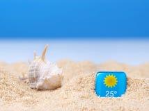 Abstract beeld van een vakantie op zee in de zomer Stock Foto