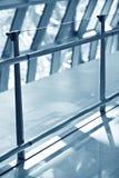 Abstract beeld van interriorluchthaven Royalty-vrije Stock Fotografie