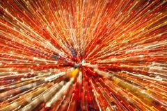 Abstract beeld van kaarslichten Royalty-vrije Stock Foto's