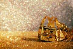 Abstract beeld van Kerstmis feestelijke decoratie Royalty-vrije Stock Fotografie