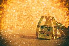 Abstract beeld van Kerstmis feestelijke decoratie Stock Foto's